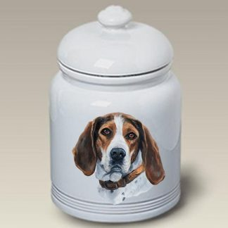 Treeing Walker Coonhound Dog Treat Cookie Jar