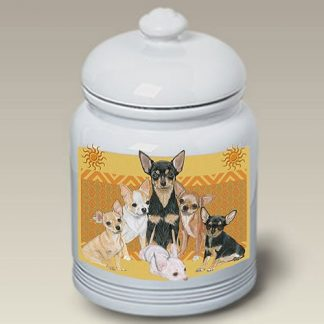 Chihuahua Dog Treat Cookie Jar III