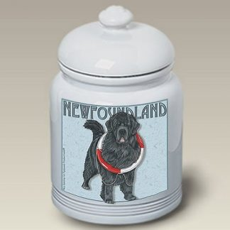 Newfoundland Dog Treat Cookie Jar III