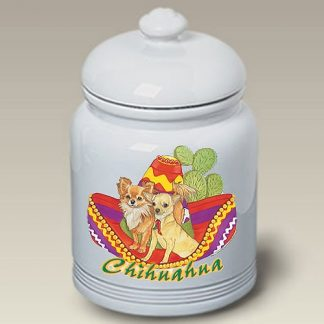Chihuahua Dog Treat Cookie Jar