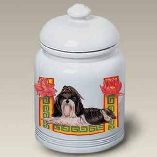 Shih Tzu Dog Treat Cookie Jar II
