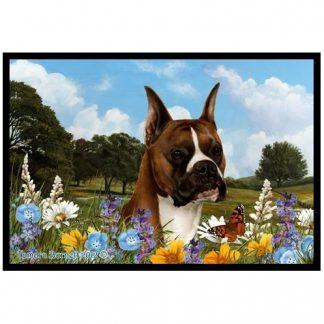 Boxer Mat - Summer Flowers