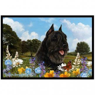 Bouvier Mat - Summer Flowers