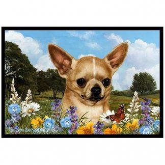 Chihuahua Mat - Summer Flowers