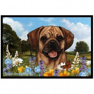 Puggle Mat - Summer Flowers