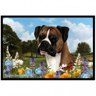 Boxer Mat - Summer Flowers (Uncropped)