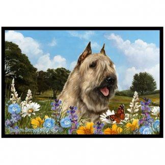 Bouvier Mat - Summer Flowers (Fawn)