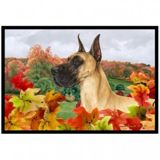 Great Dane Mat - Autumn Leaves