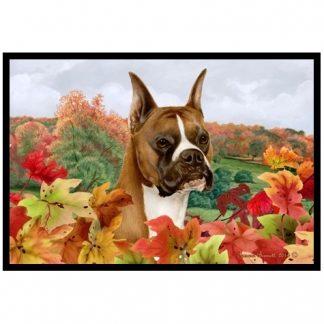 Boxer Mat - Autumn Leaves