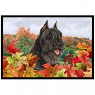 Bouvier Mat - Autumn Leaves