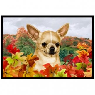 Chihuahua Mat - Autumn Leaves