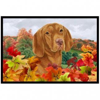 Vizsla Mat - Autumn Leaves