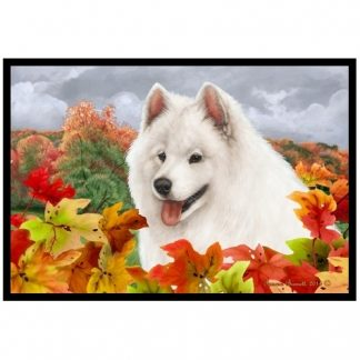 Samoyed Mat - Autumn Leaves