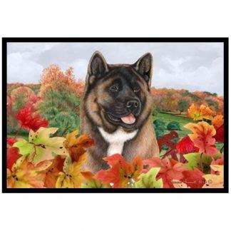 Akita Mat - Autumn Leaves