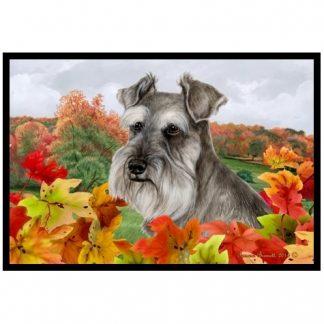 Schnauzer Mat - Autumn Leaves