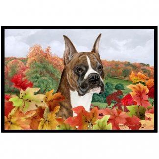 Boxer Mat - Autumn Leaves (Brindle)