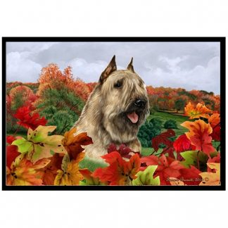 Bouvier Mat - Autumn Leaves (Fawn)