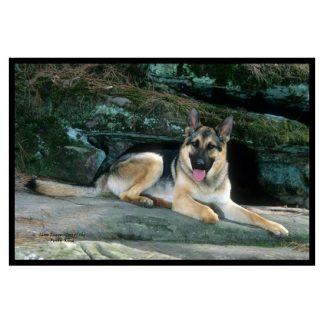 German Shepherd Mat