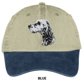 English Setter Hat - Embroidered