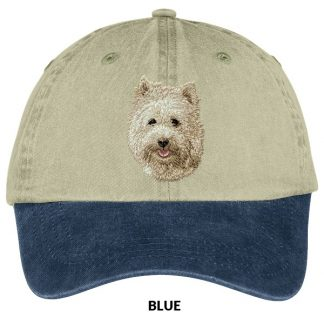 Cairn Terrier Hat - Embroidered