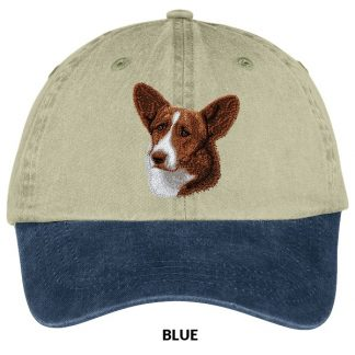 Corgi Hat - Embroidered (Red)