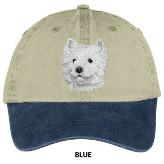 West Highland Terrier Hat - Embroidered