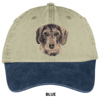 Wirehaired Dachshund Hat - Embroidered