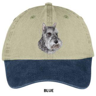 Schnauzer Hat - Embroidered