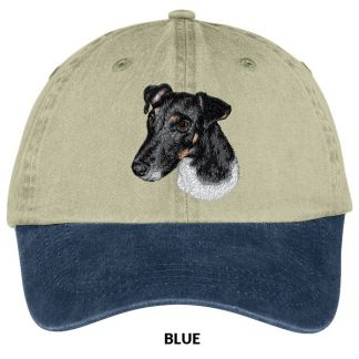 Smooth Fox Terrier Hat - Embroidered