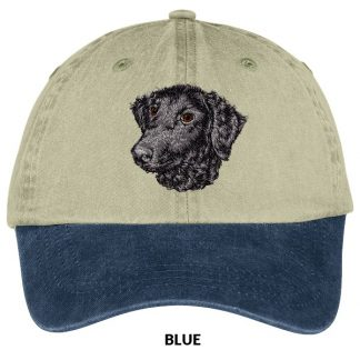 Curly Coated Retriever Hat - Embroidered
