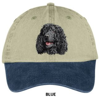 Irish Water Spaniel Hat - Embroidered