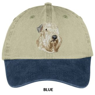 Soft Coated Wheaten Hat - Embroidered