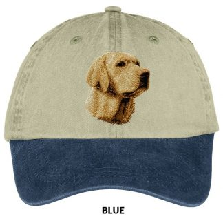 Yellow Lab Hat - Embroidered