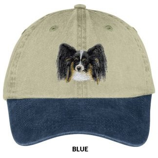 Papillon Hat - Embroidered (Tri)