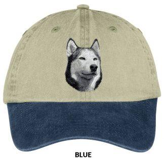 Siberian Husky Hat - Embroidered