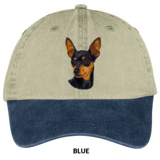 Miniature Pinscher Hat - Embroidered