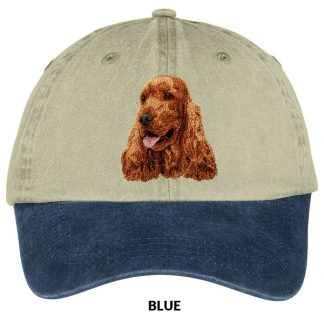 English Cocker Spaniel Hat - Embroidered