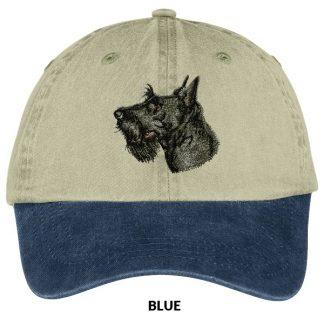 Scottish Terrier Hat - Embroidered