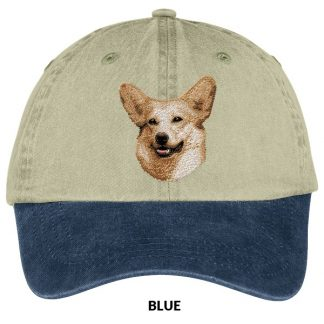 Corgi Hat - Embroidered (Blonde)