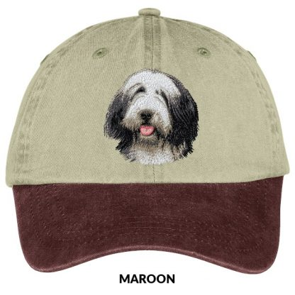 Bearded Collie Hat - Embroidered
