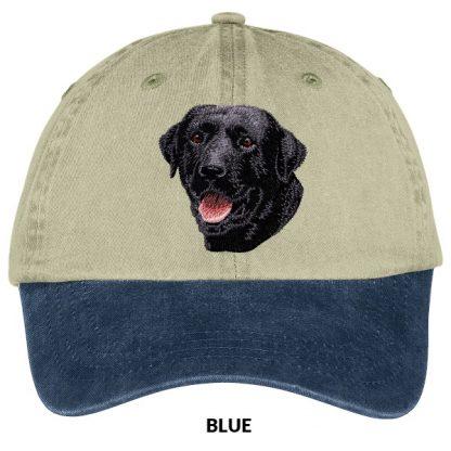 Black Lab Hat - Embroidered