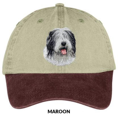 Old English Sheepdog Hat - Embroidered