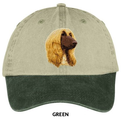Afghan Hound Hat - Embroidered