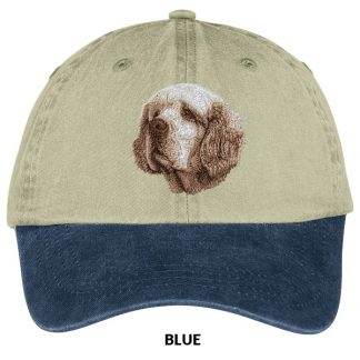 Clumber Spaniel Hat - Embroidered