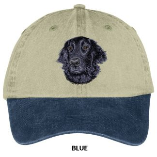 Flat Coated Retriever Hat - Embroidered