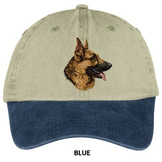 German Shepherd Hat - Embroidered (Profile)