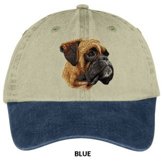 Boxer Hat - Embroidered (Uncropped)