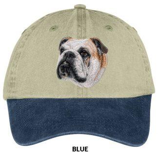 Bulldog Hat - Embroidered