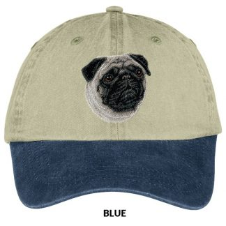 Pug Hat - Embroidered