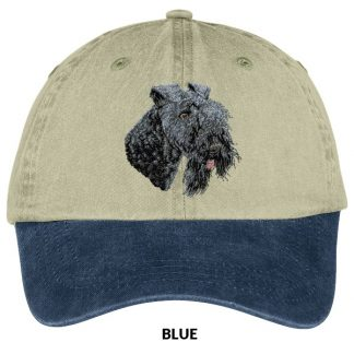 Kerry Blue Terrier Hat - Embroidered